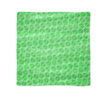 Green Squares Geometric Pattern Scarf