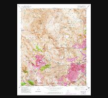 USGS TOPO Map Arizona AZ Inspiration 311887 1945 24000 Unisex T-Shirt