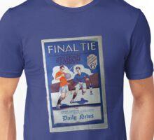 1927 Cup Final Program Unisex T-Shirt