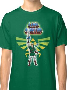 Link and the Master Sword Classic T-Shirt