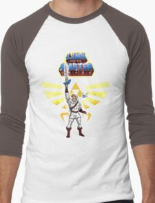 Link and the Master Sword Men's Baseball ¾ T-Shirt