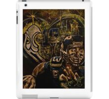 Pacific Northwest SEAHAWK Russell Wilson Painting iPad Case/Skin