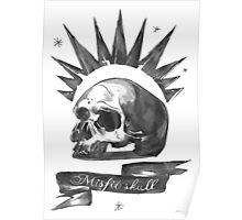 Chloe Price - Misfit Skull Poster