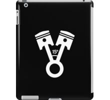 15 degree V engine (2) iPad Case/Skin