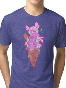 Slime Cream Tri-blend T-Shirt