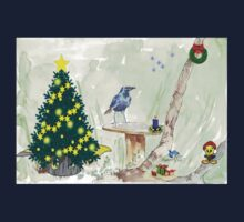 The Starling and Christmas in Africa Kids Tee