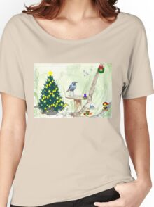 The Starling and Christmas in Africa Women's Relaxed Fit T-Shirt
