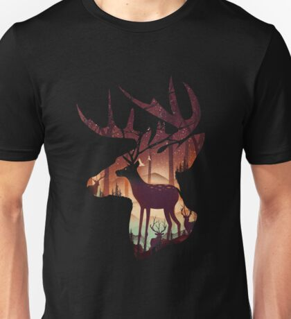 Mystical Deer Unisex T-Shirt