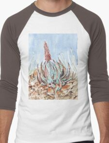 Aloe peglerae  Men's Baseball ¾ T-Shirt