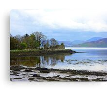 A Ruin With A View..........................Ireland Canvas Print