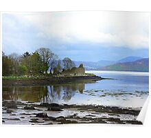 A Ruin With A View..........................Ireland Poster
