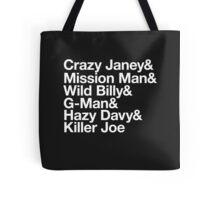 Spirit In The Night Helvetica Tote Bag