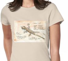 African Striped Skink - Not so easy! Womens Fitted T-Shirt