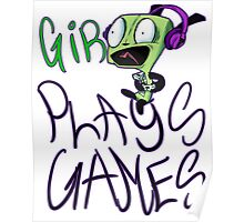GiR Plays Games Poster