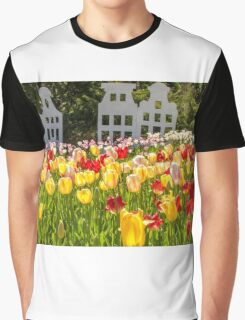 Spring time is Tulip Time Graphic T-Shirt