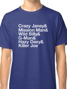 Spirit In The Night Helvetica Classic T-Shirt