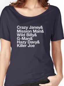 Spirit In The Night Helvetica Women's Relaxed Fit T-Shirt