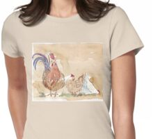 Artemis and the Girls Womens Fitted T-Shirt