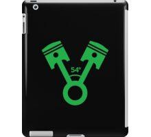 54 degree V engine (3) iPad Case/Skin