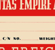 Quantas Empire Airways Sticker