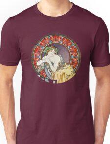 Alphonse mucha Goddess Artwork Unisex T-Shirt