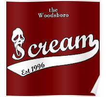 the woodsboro scream Poster
