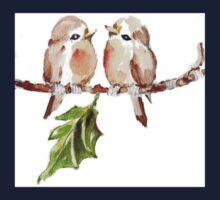 Two Little Birds 1 One Piece - Short Sleeve