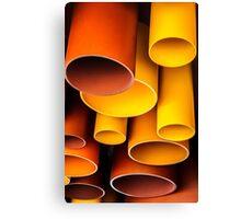 Plastic Architecture Canvas Print
