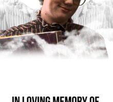 Rest in peace Barb Sticker