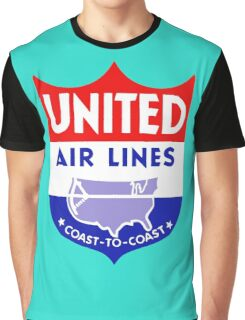 United Luggage Tag Graphic T-Shirt