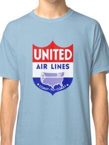 United Luggage Tag Classic T-Shirt