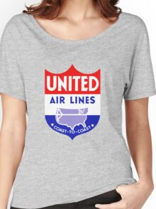 United Luggage Tag Women's Relaxed Fit T-Shirt