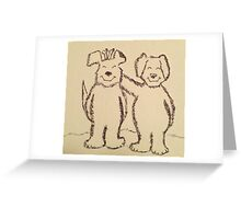 Bony Ears Greeting Card