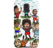 The World Cup Toons Samsung Galaxy Case/Skin