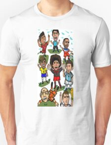 The World Cup Toons Unisex T-Shirt
