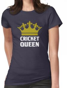 Cricket Queen Womens Fitted T-Shirt