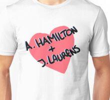 A.Hamilton + J.Laurens Unisex T-Shirt