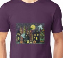 City Lights for Ghoolies, Goblins,Ghosties and other critters Unisex T-Shirt