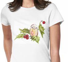 One Little Bird ♪♪♪♫ Womens Fitted T-Shirt