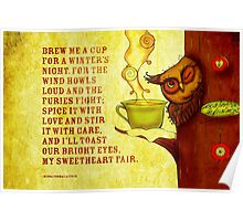 What my #Tea says to me - December 13, 2014  Poster