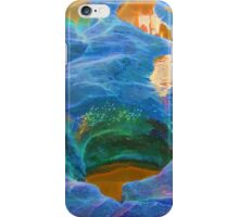 Abstract beautiful rock pools iPhone Case/Skin