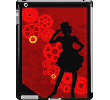 Lady SteamPunk iPad Case/Skin
