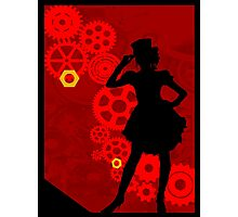 Lady SteamPunk Photographic Print