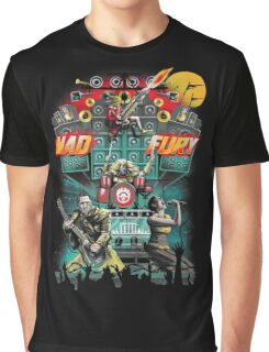 Mad Fury Concert Tour Graphic T-Shirt
