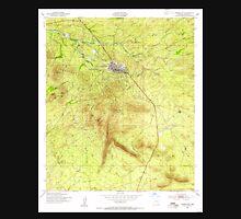 USGS TOPO Map Arizona AZ Tombstone 313756 1952 24000 Unisex T-Shirt