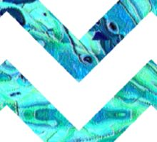 Arctic Blast Chevron Sticker