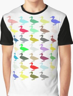 Ducks On Acid Graphic T-Shirt
