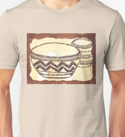 African clay pots - Ethnic series Unisex T-Shirt