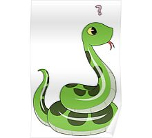 Chibi snake Poster