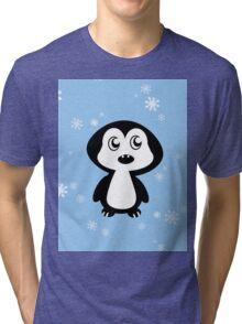 Penguin Blue Tri-blend T-Shirt